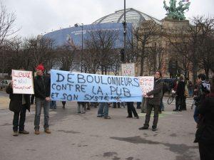 Action des Déboulonneurs du 20 décembre 2008