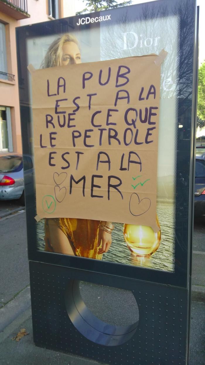 Affiche antipub